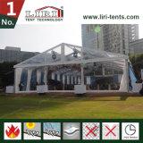 15X20mの結婚披露宴のための防火効力のある白い玄関ひさしのテント
