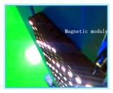 Module doucement polychrome magnétique d'intérieur d'étalages de P6.67 DEL
