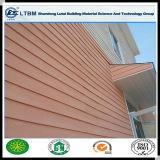 Revestimiento de madera del exterior de la tarjeta del cemento de la fibra del grano