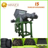 Máquina de estaca dobro projetada especial do desperdício do Shredder do eixo