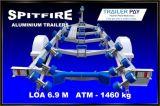 Reboque de barco de alumínio Cospe-fogos 6,9 metro - 1, 460 Kg
