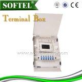 El bastidor de la distribución de fibra óptica de 144c ODF