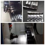 8개의 역 유압 포탑 기울어지는 침대 CNC 축융기 선반