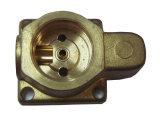 Pezzo fucinato d'ottone forgiato caldo ed accessorio lavorato della valvola