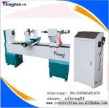 中国の熱い販売の工場CNCの木製の回転旋盤か木工業の旋盤は表の足の作成をする