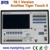 Contrôleur d'éclairage DMX professionnel 10.1 Avolites Tiger Touch Version 2 pour éclairage de scène.