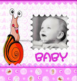 "Capa de papel 6 ""X6"" Álbum de álbuns do bebê com janela"
