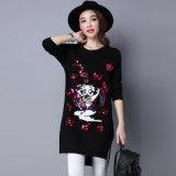 Acrylic Sweater, Pullover-Strickjacke der neuen Art-Dame