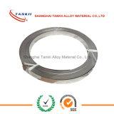 l'Ferro-bicromato di potassio-alluminio (FeCrAl) unisce in lega le strisce di spessore di 0.3mm in azione