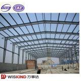 Estructura de acero prefabricados con haz de la grúa