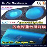 Pellicola chiara brillante 0.3*9m della lampada di coda della tinta della pellicola/coda di Headligh della pellicola dell'indicatore luminoso dell'automobile della scintilla
