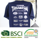 BaumwolleMan&Woman T-Shirt 100% am Sommer
