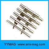 ネオジムの鉄のほう素通された穴が付いている磁気フィルター棒