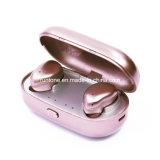 Mic와 Sweatproof 코드가 없는 입체 음향 헤드폰을%s 가진 소형 무선 Earbuds Bluetooth 4.1가 무선 헤드폰에 의하여, Smartomi 스포츠 박사에 셀룰라 전화를 위한 철사 구두를 신긴다