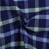 T/C 털실에 의하여 염색되는 검사 디자인 셔츠 직물