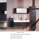 An der Wand befestigter Möbel-Badezimmer-Schrank mit Spiegel