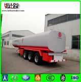 中国の三車軸セミトレーラー45000リットルの石油タンカーのトレーラーの燃料タンクの
