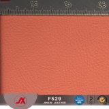부대와 소파를 위한 1.2mm 돋을새김된 Lichi 패턴 PVC 합성 가죽