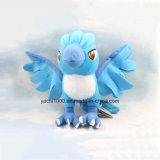 Pájaro azul suave hermoso de la felpa
