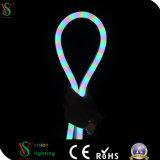Luz de néon da corda do cabo flexível por atacado do diodo emissor de luz para a decoração do Natal