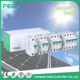 Sistema fotovoltaico 4p 1000V DIN Rail Disyuntor DC Solar MCB