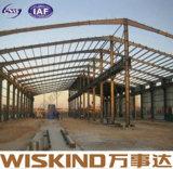 Almacén prefabricado de la estructura de acero del ingeniero de la buena calidad pre nuevo