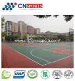 Revestimento resistente da corte dos esportes ao ar livre de choque para a ginástica/estádio/campo de jogos