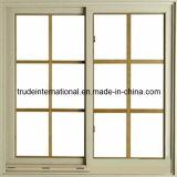 Het witte Openslaand raam van pvc van de Kleur