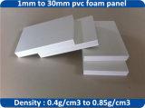 Hoja blanca y dura de la espuma del PVC