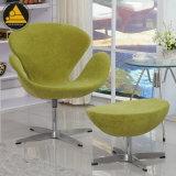 Moderne Möbel-Drehpolsterung-weicher Freizeit-Schwan-Stuhl