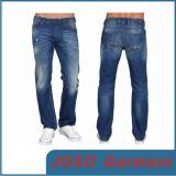 青い偶然の人は緩めるジーンズ(JC3054)を