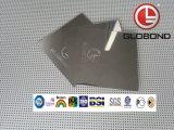 Panel compuesto GLOBOND de poliéster de aluminio (PE-314 blanco lechoso)