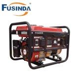 Fh Serie 4000 Watt Ohv 4-Cycle gasbetriebener beweglicher Generator mit Rad-Installationssatz und elektrischem Anfang