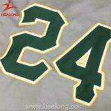 Healong野球のジャージーのワイシャツの新しいCamoの実物大模型デザイン