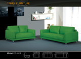 Софа живущий мебели комнаты самомоднейшая с реальной кожаный софой