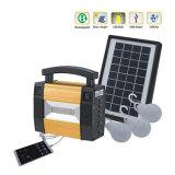 Indicadores del sistema solar / energía solar sistema de energía solar luces LED con el cargador del teléfono