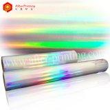 虹のホログラムの熱薄板になるフィルム