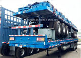 骨組およびPlatform Container Transport Semi Trailers