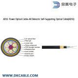 ADSS: De Optische Kabel van de macht; Al Diëlektrische Zelfstandige Optische Kabel (ADSS)