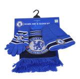 2018 de Hete Sjaal van de Voetbal van de Verkoop, Warme Scarf&Glove&Hat, de Reeks van de Voetbal