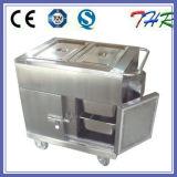 Carretilla eléctrica llena del alimento de la calefacción del acero inoxidable (THR-FC005)