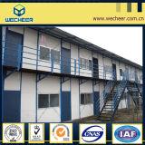 Casa Prefab/dormitório móvel do escritório do canteiro da casa/obras