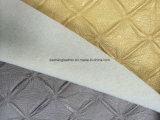 Подача пены с высокой PVC из натуральной кожи с рельефным модели