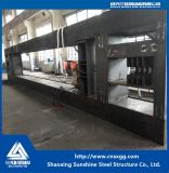 Estructura de acero de elevación de la parte para la máquina del puente