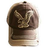 非常に厚いStitchings Gjwd1724の習慣によって洗浄される野球帽