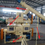 1000kg/H Machine van de Pers van de Briket van de biomassa de Houten