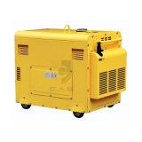 단일 위상 5kw/5kVA/5000watt 방음 디젤 엔진 발전기