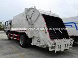 Les roues de JAC 6 6 tonnes de compacteur d'ordures du transport 6 d'ordures de Cbm rassemblent le camion