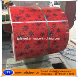 Le modèle estampé a enduit la bobine d'une première couche de peinture en acier galvanisée