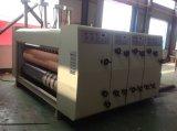 Impression automatique de cadre de carton rainant la machine ondulée de découpage de machine